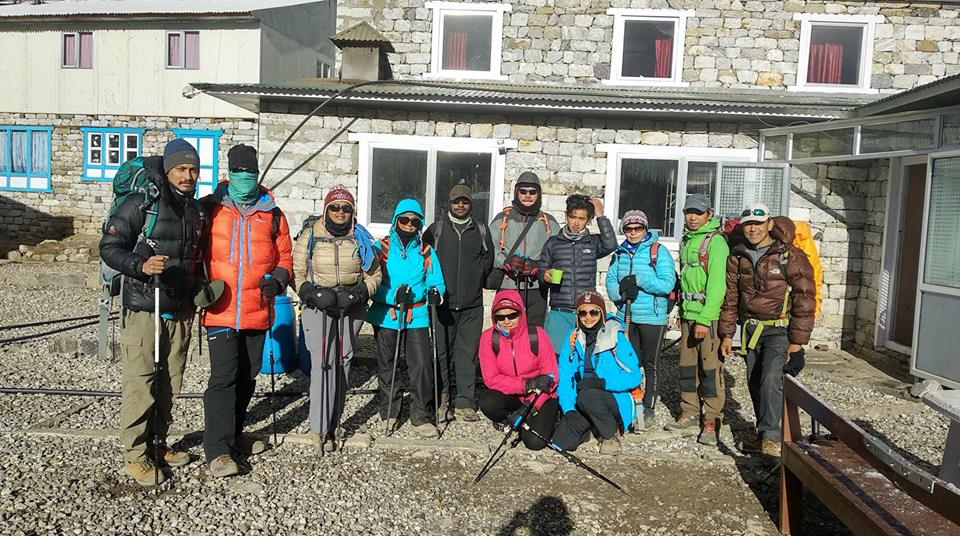 03 June- 2018: Trek to Lobuche