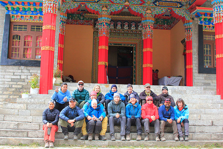 Group Pictures at Nunnery Monastery